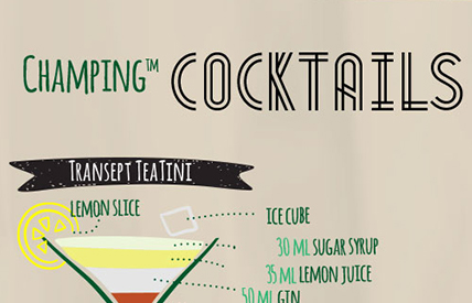 champing cocktails